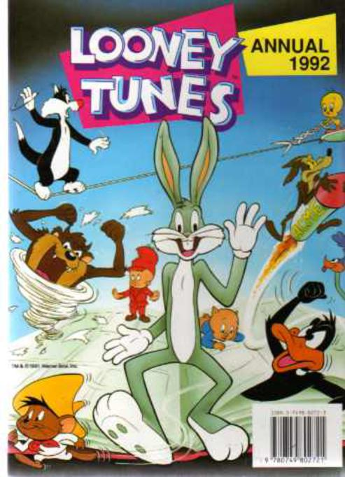 Image for Looney Tunes Annual 1992
