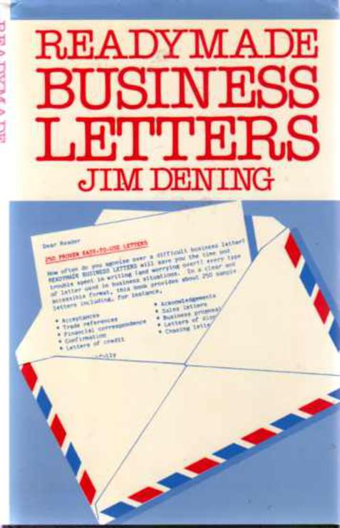Image for Readymade Business Letters