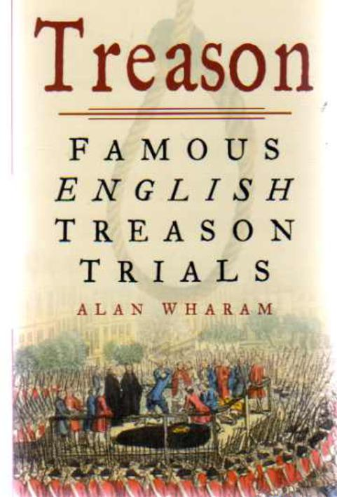Image for Treason : Famous English Treason Trials