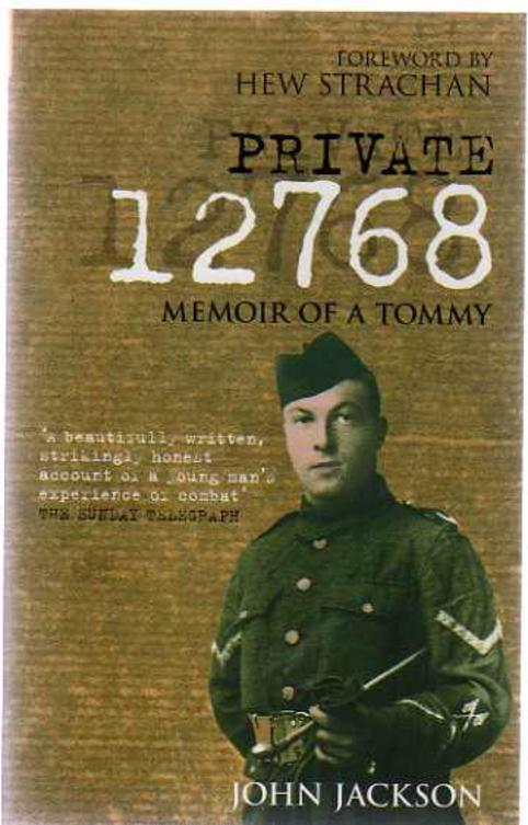 Image for Private 12768 : Memoir of a Tommy