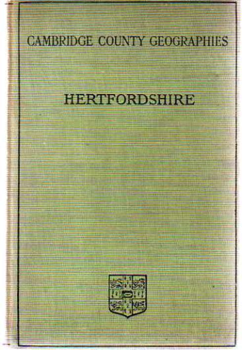 Image for Cambridge County Geographies - Hertfordshire