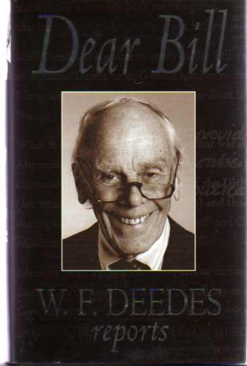 Image for Dear Bill - W.F. Deedes Reports