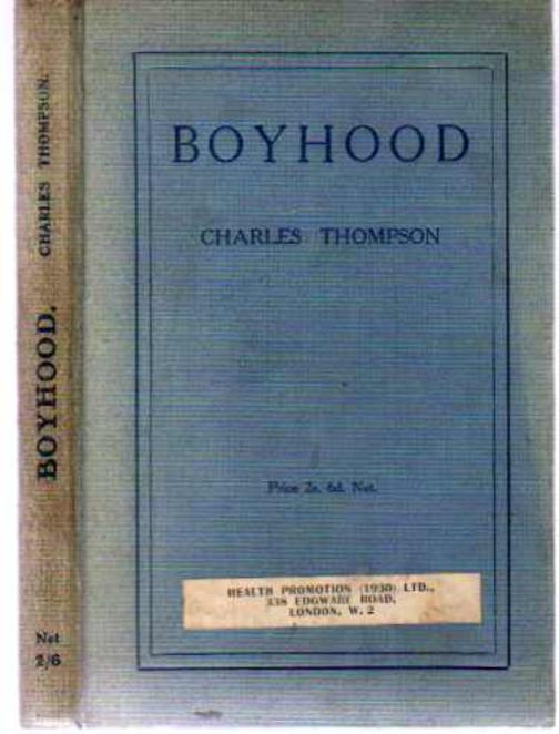 Image for Boyhood - The Facts of Life Presented to Boys