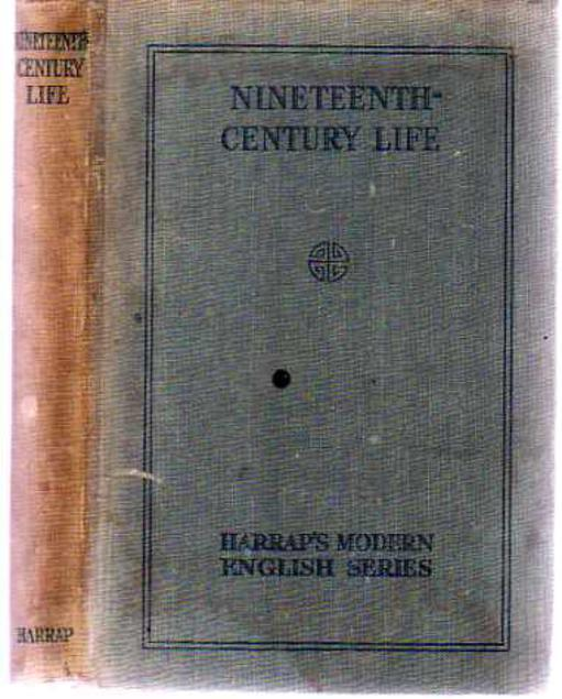Image for Nineteenth-Century Life : As Reflected in the Pages of the Leading Novelists