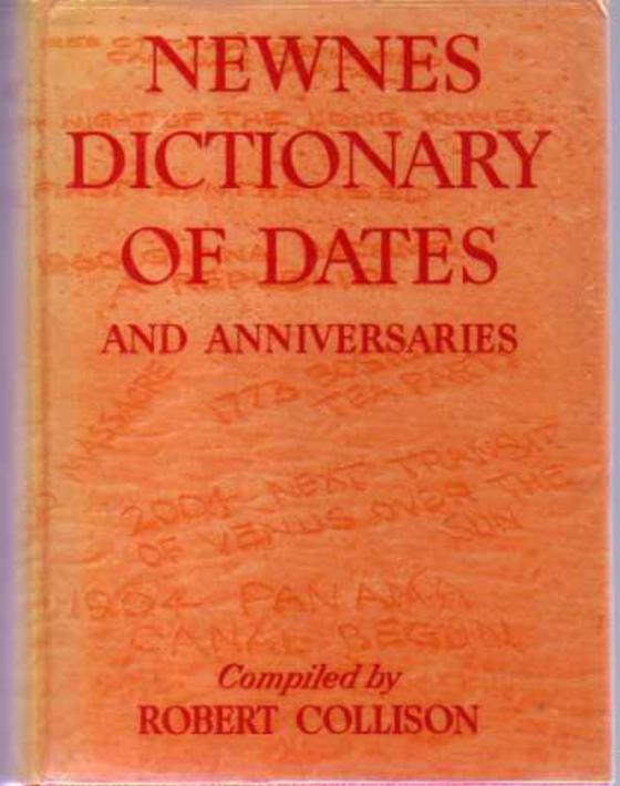 Image for Newnes Dictionary of Dates and Anniversaries