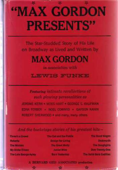 Image for Max Gordon Presents  (SIGNED COPY)