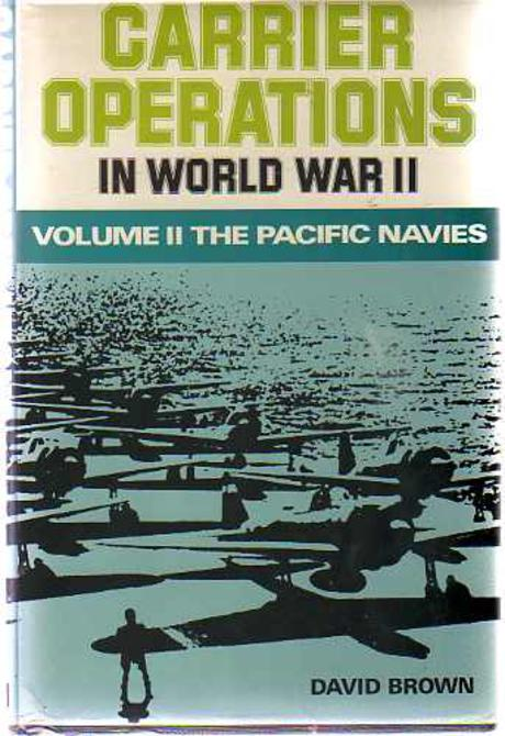Image for Carrier Operations in World War II; Volume II - The Pacific Navies