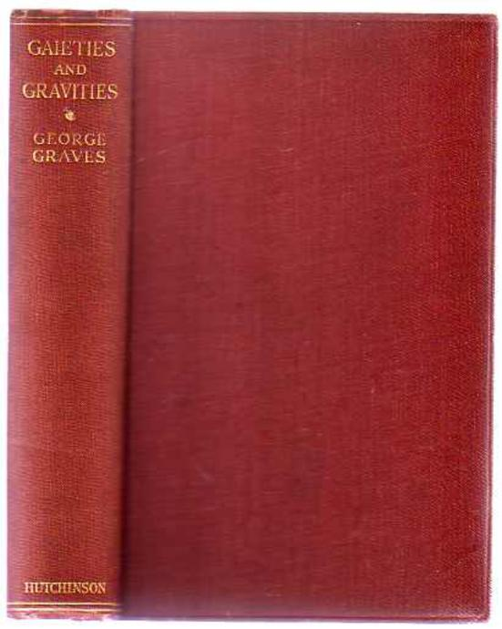 Image for Gaieties & Gravities - the Autobiography of a Comedian