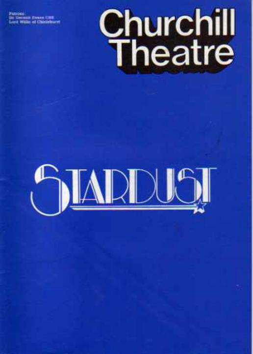 Image for Stardust - (THEATRE PROGRAMME)