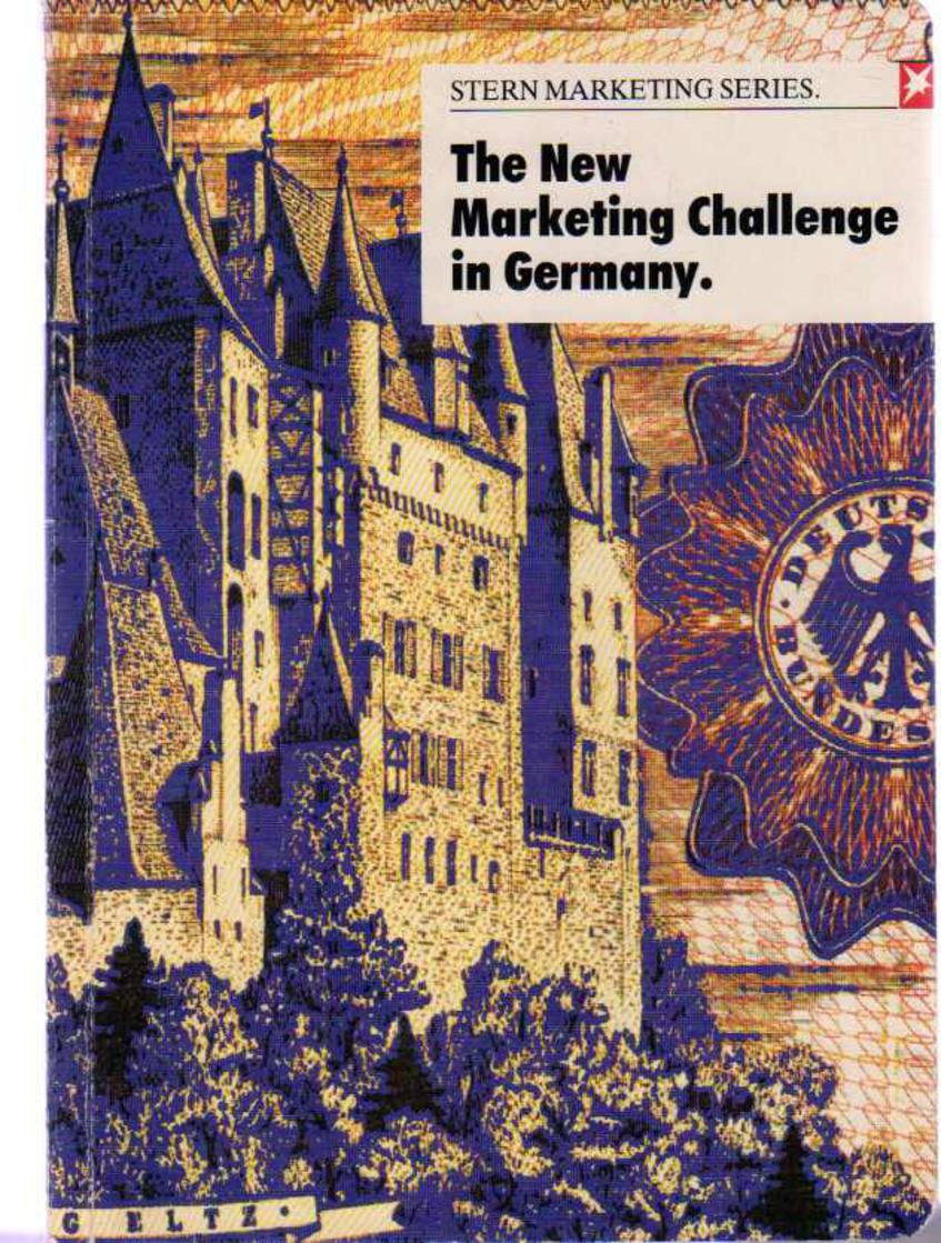 Image for The New Marketing Challenge in Germany