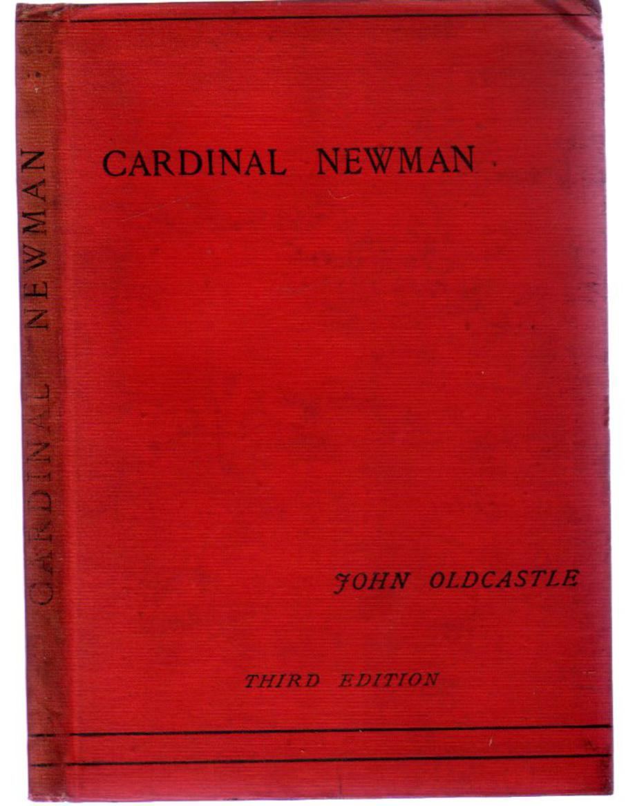 Image for Cardinal Newman : With Notes on the Oxford Movement and its Men