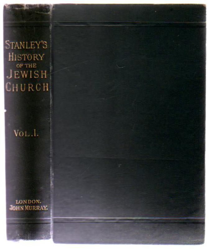 Image for Lectures on the History of the Jewish Church : Volume I Abraham to Samuel