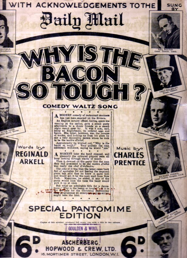 Image for Why is the Bacon So Tough ?