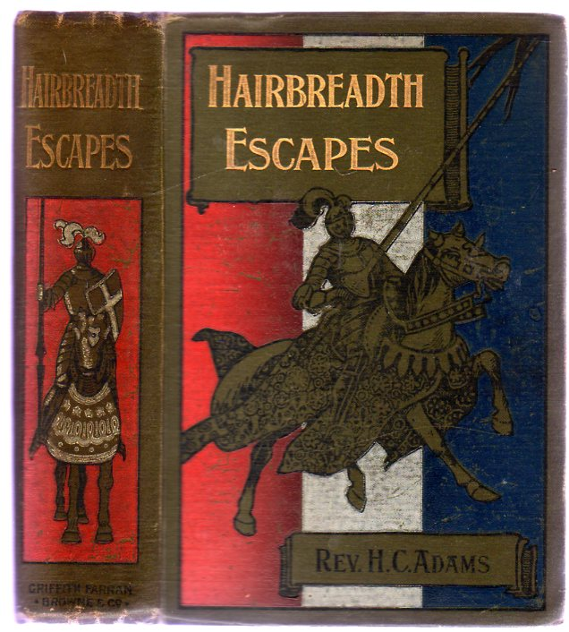 Image for Hair-Breadth Escapes or the Adventures of the Three Boys in South Africa