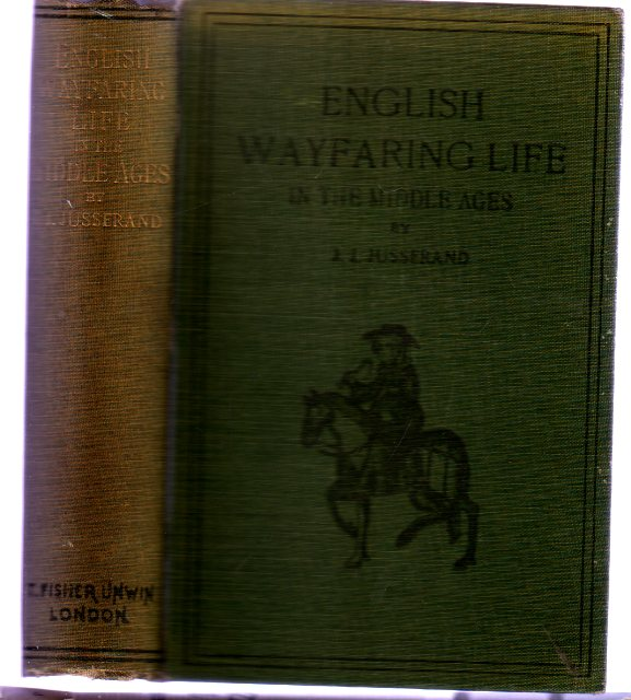 Image for English Wayfaring Life In The Middle Ages - XIV Century