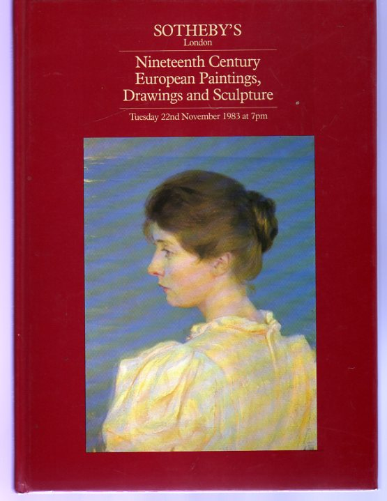 Image for Nineteenth Century European Paintings, Drawings and Sculpture