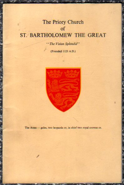 Image for The Priory Church of St. Bartholemew the Great