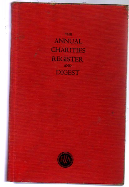 Image for The Annual Charities Register and Digest Sixtieth Edition 1953