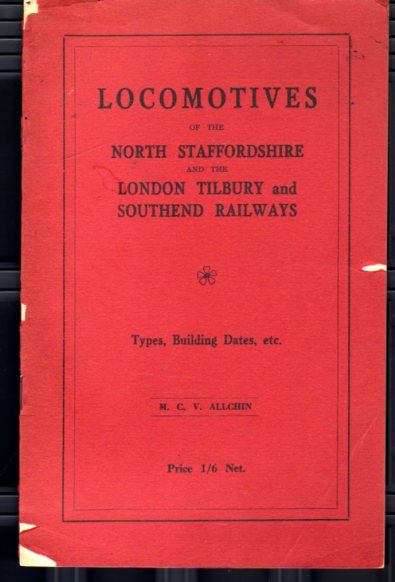 Image for Locomotives of the North Staffordshire and the London Tilbury  and Southend Railways
