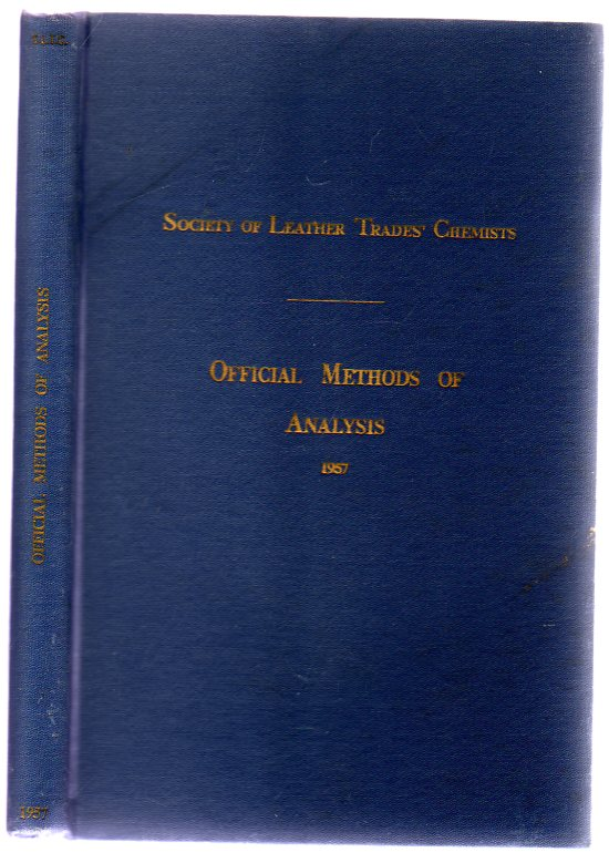 Image for Offical Methods of Analysis (1957) of the Society of Leather Trades' Chemists