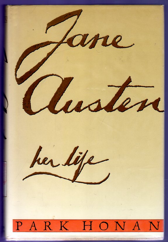 Image for Jane Austen : Her Life
