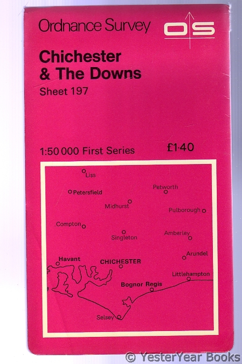Image for Ordnance Survey Sheet 197 Chichester & the Downs