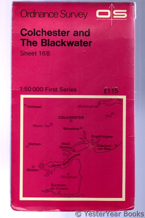 Image for Ordnance Survey Sheet 168 Colchester and the Blackwater