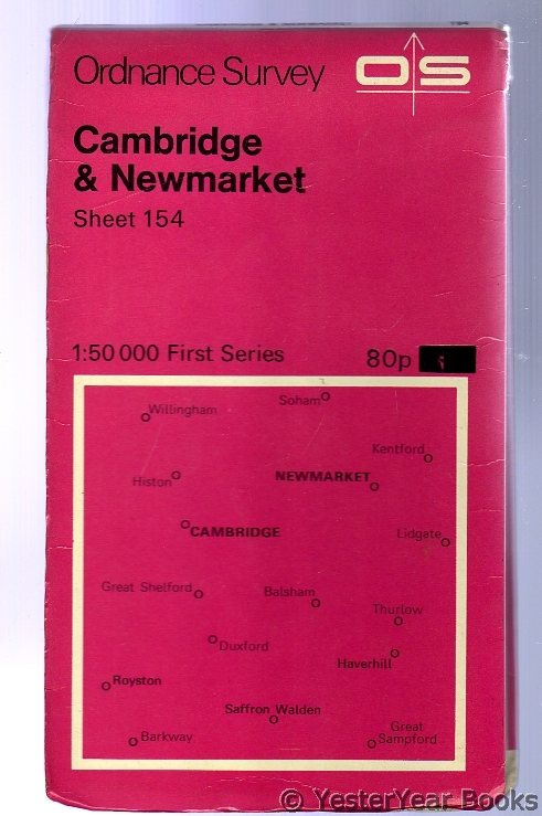 Image for Ordnance Survey Sheet 154 Cambridge and Newmarket