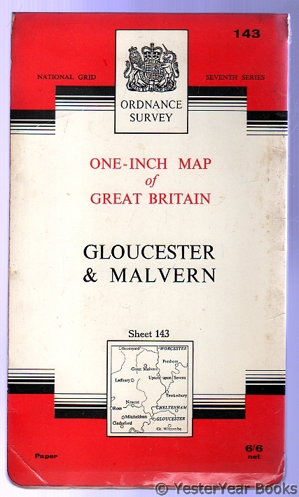 Image for Ordnance Survey  One-Inch Map of Great Britain Sheet 143 Gloucester & Malvern