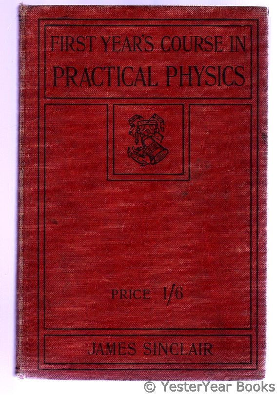 Image for First Year's Course in Practical Physics