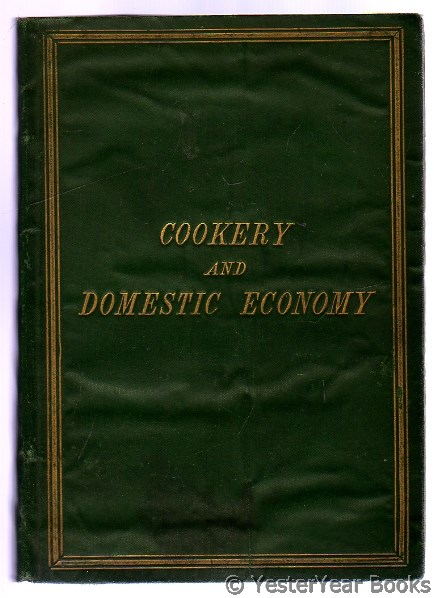 Image for Cookery and Domestic Economy for Young Housewives