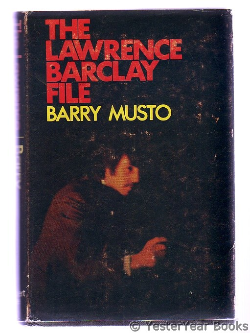 Image for The Lawrence Barclay File  (SIGNED)