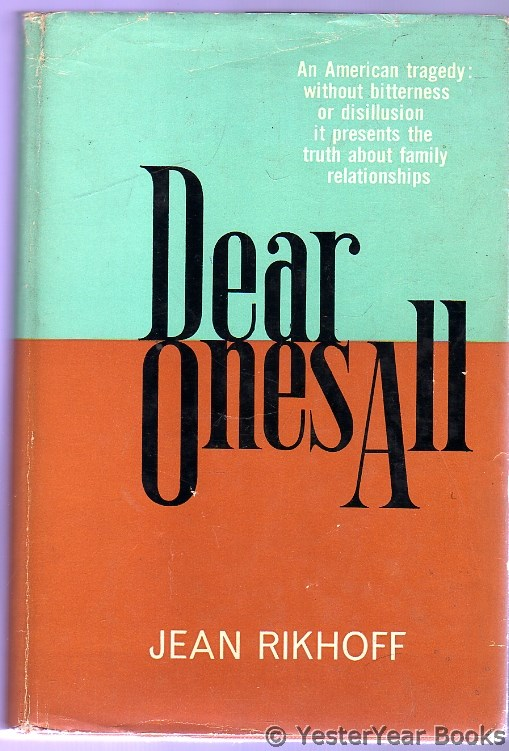 Image for Dear Ones All