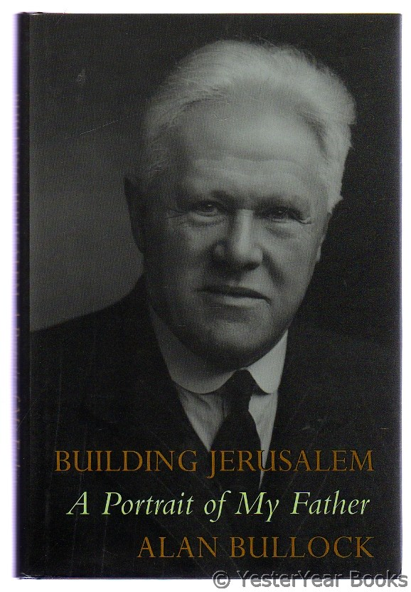 Image for Building Jerusalem : A Portrait of My Father