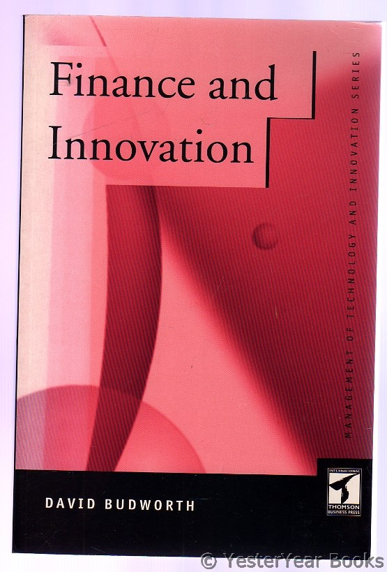 Image for Finance and Innovation