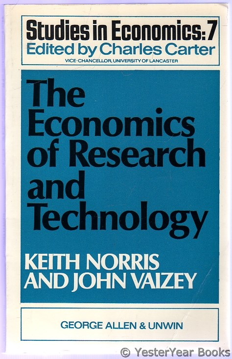 Image for The Economics of Research and Technology