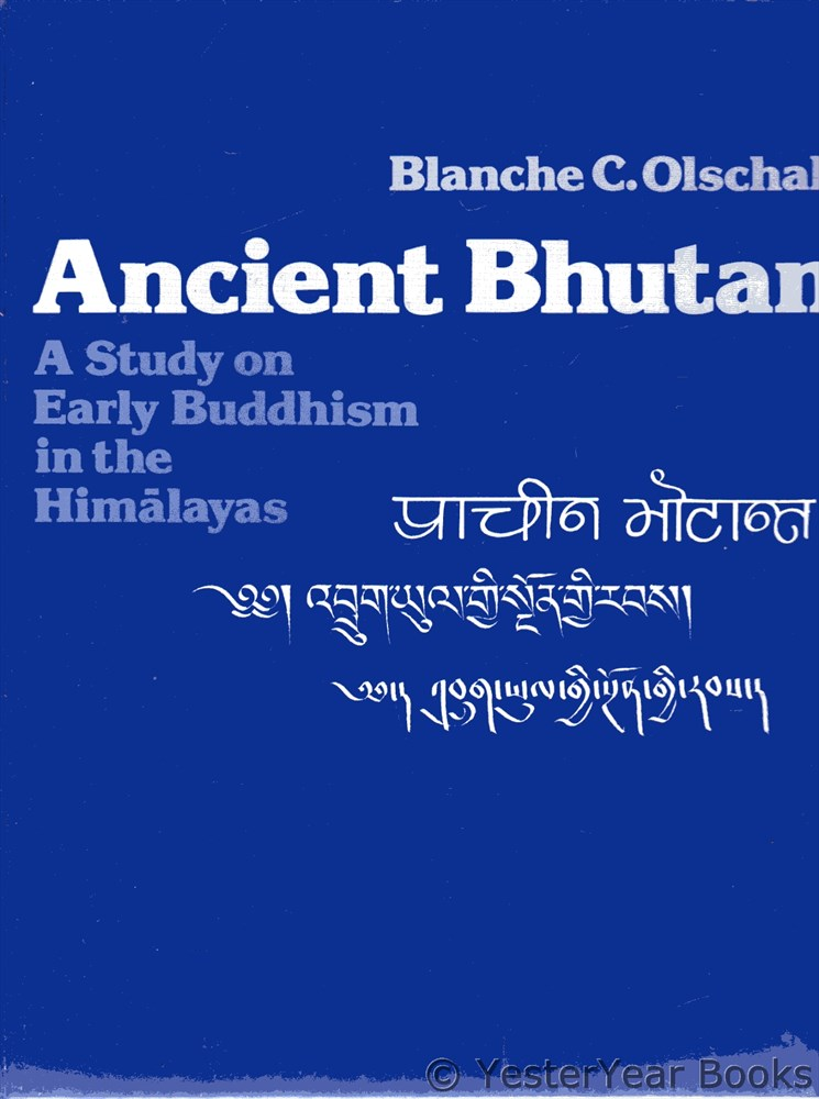 Image for Ancient Bhutan : A Study on Early Buddhism in the Himalayas