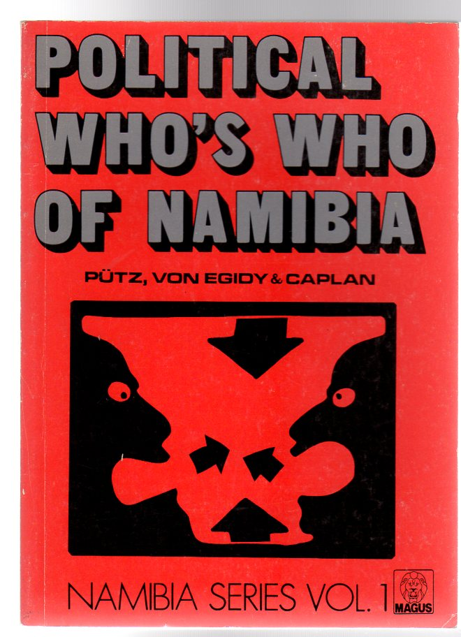 Image for Political Who's Who of Namibia