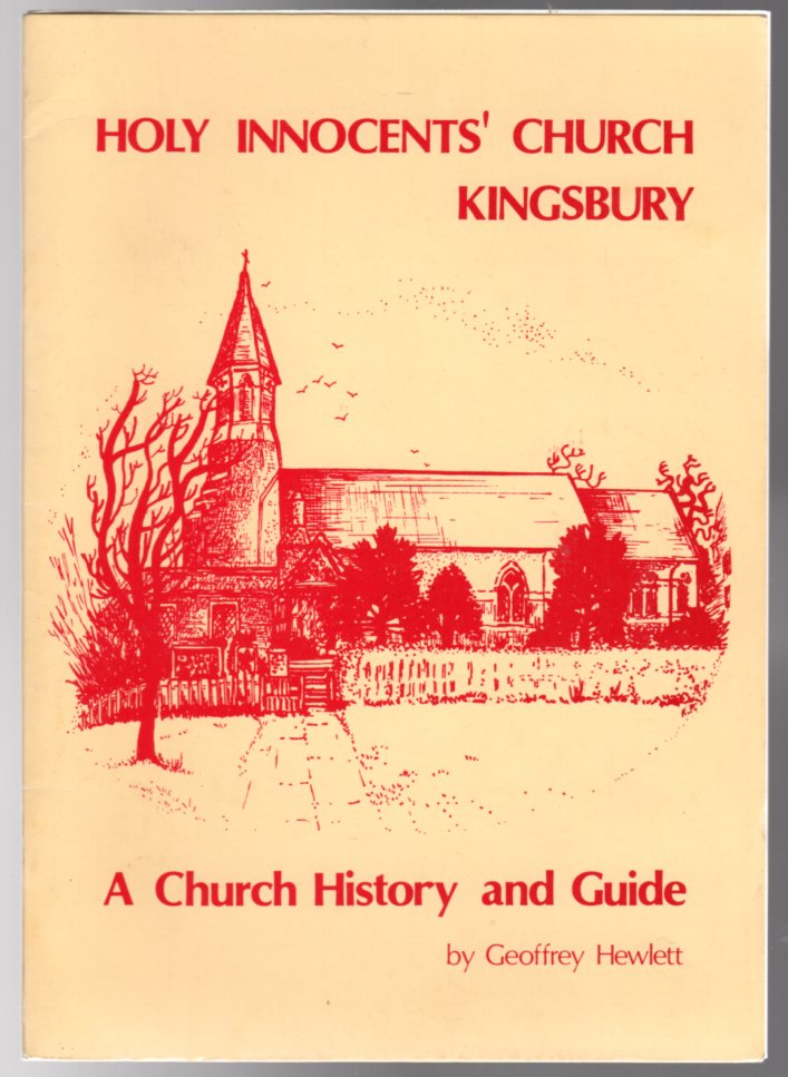 Image for Holy Innocents' Church, Kingsbury : A Church History and Guide