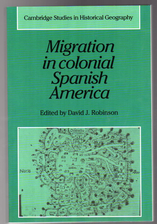 Image for Migration in Colonial Spanish America