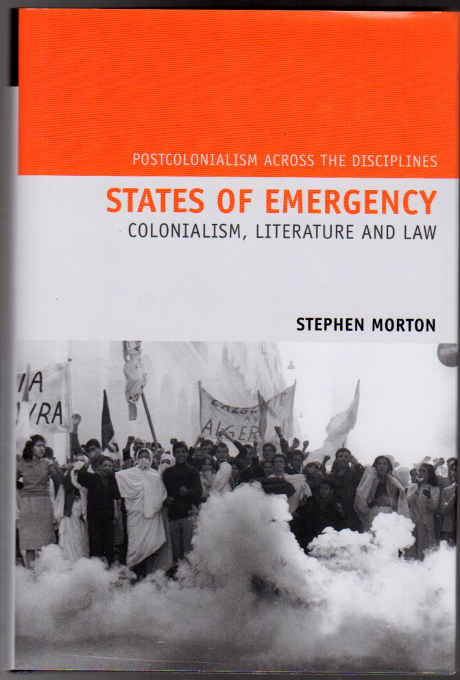 Image for States of Emergency - Colonialism, Literature and Law