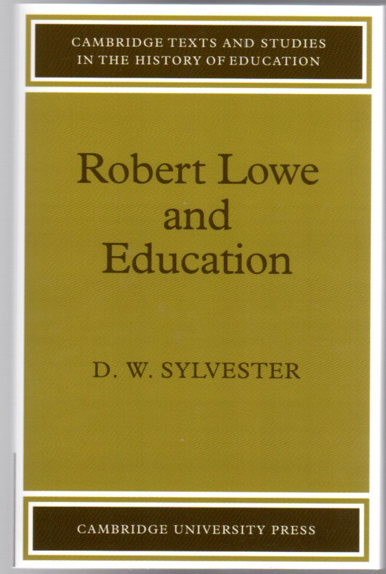 Image for Robert Lowe and Education