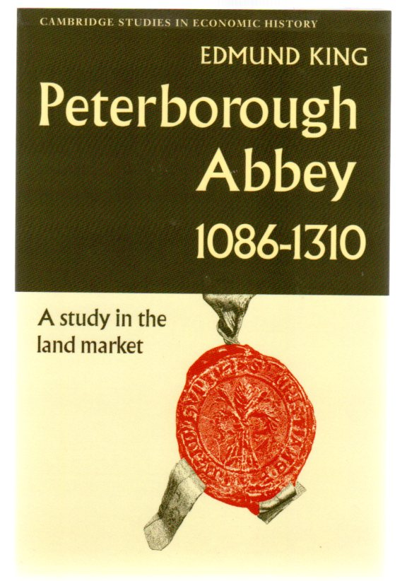 Image for Peterborough Abbey 1086-1310 : A Study in the Land Market