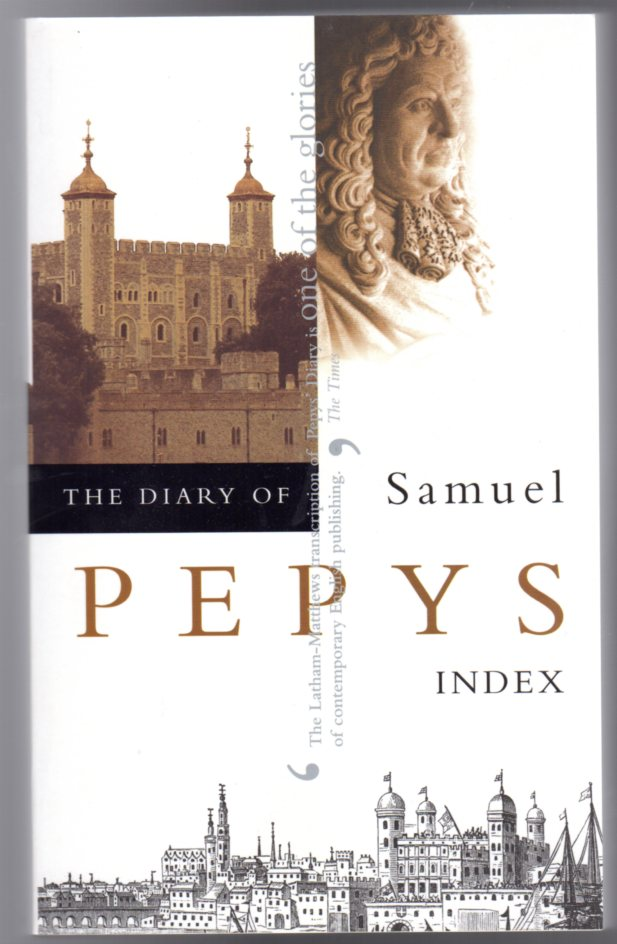 Image for The Diary of Samuel Pepys : Volume XI - Index