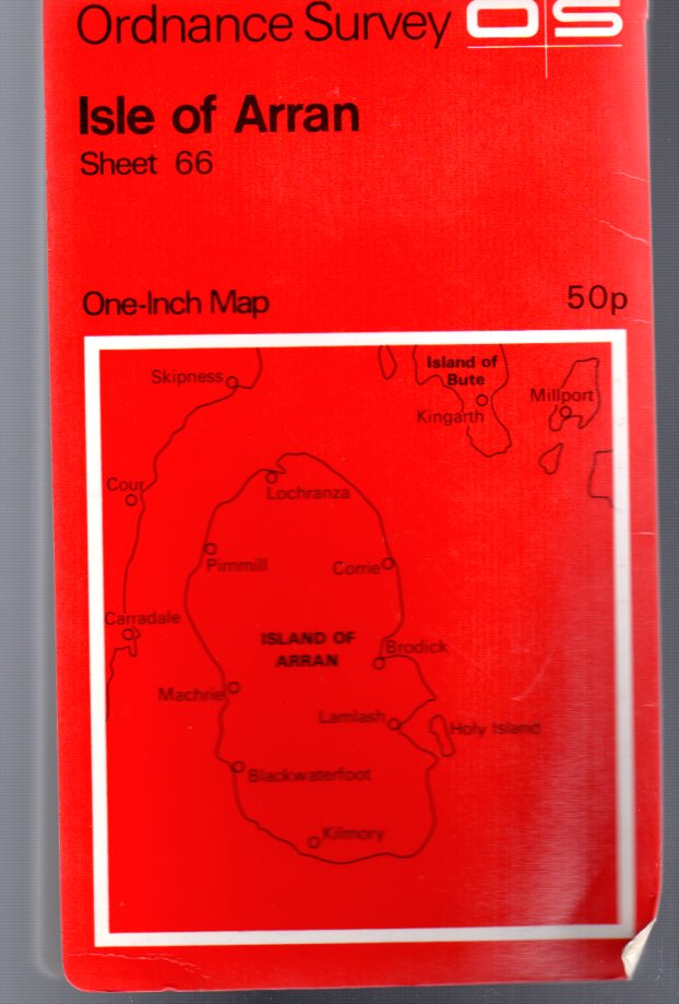 Image for Ordnance Survey  One-Inch Map - Isle of Arran - Sheet 66