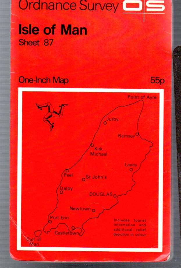 Image for Ordnance Survey  One-Inch Map - Isle of Man - Sheet 87