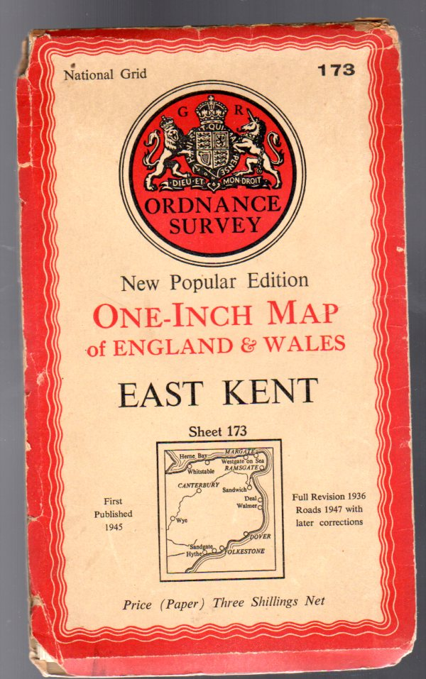 Image for Ordnance Survey  One-Inch Map of England & Wales Sheet  173 East Kent