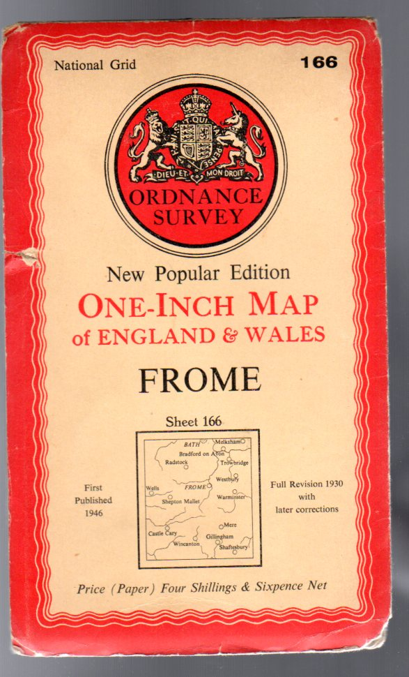Image for Ordnance Survey  One-Inch Map of England & Wales Sheet  166 Frome