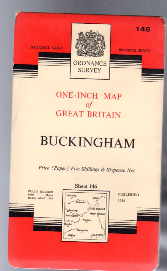 Image for Ordnance Survey  One-Inch Map of England & Wales Sheet 146 Buckingham