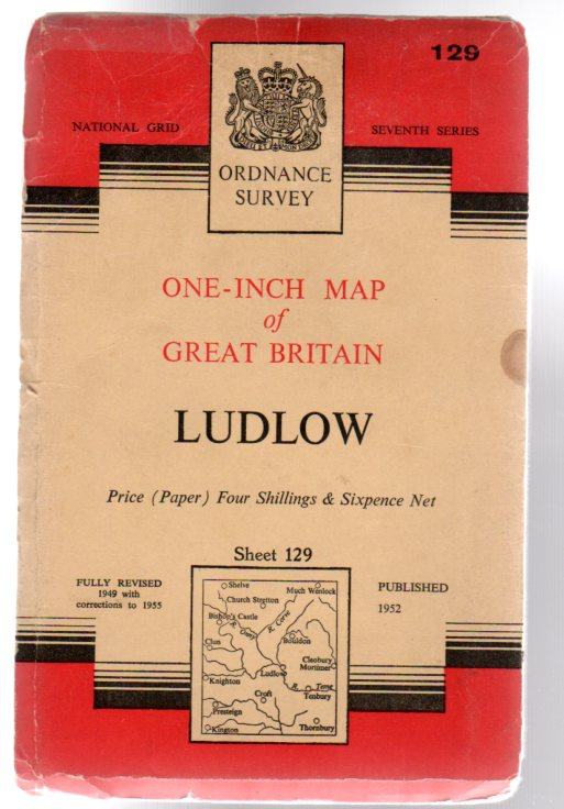 Image for Ordnance Survey  One-Inch Map of Great Britain Sheet 129 Ludlow